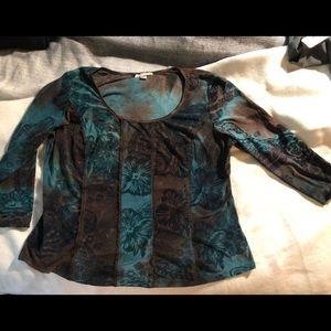 Dressy Velvety Shirt